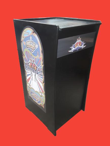 Black Video Arcade Machine Base