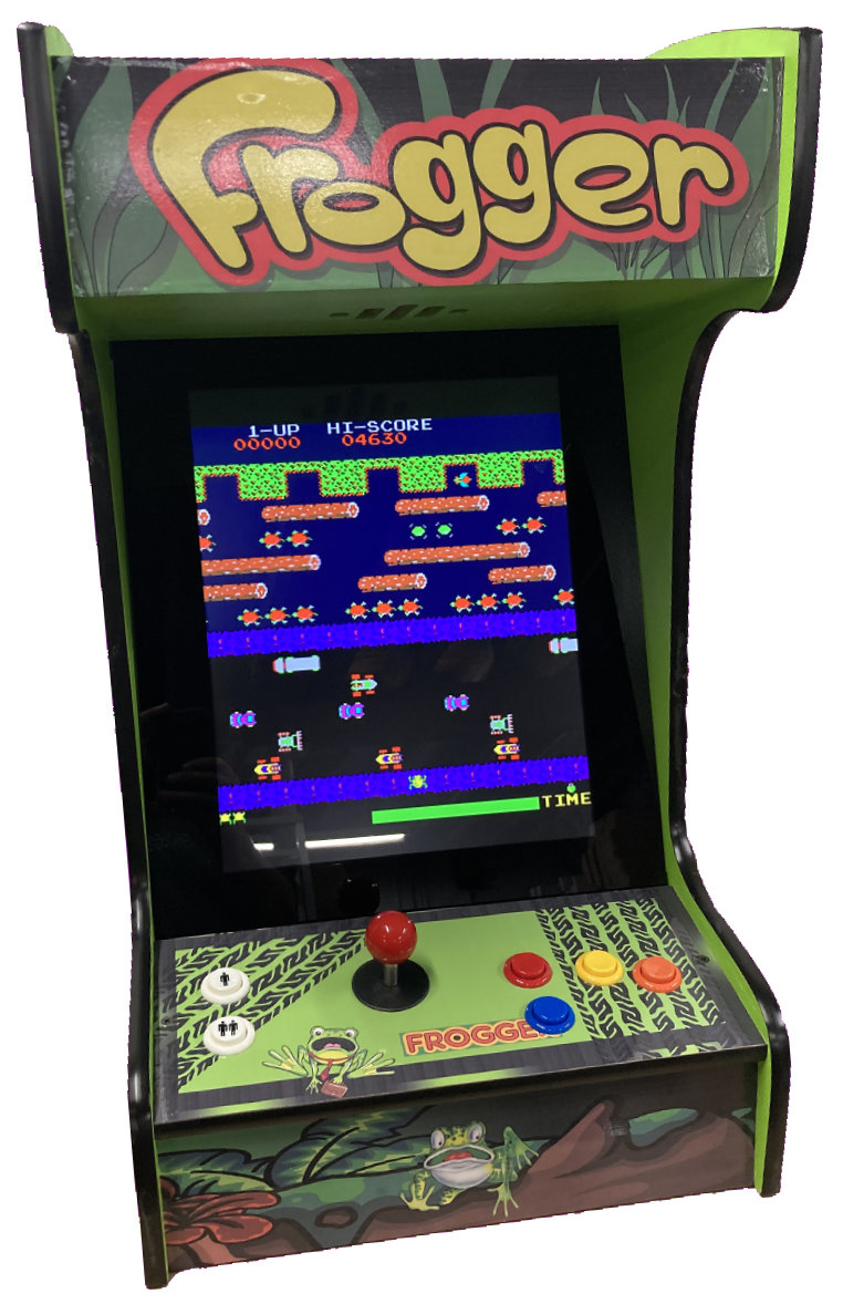 Frogger Arcade Machine