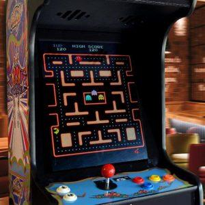 Arcade Machine Black Galaga