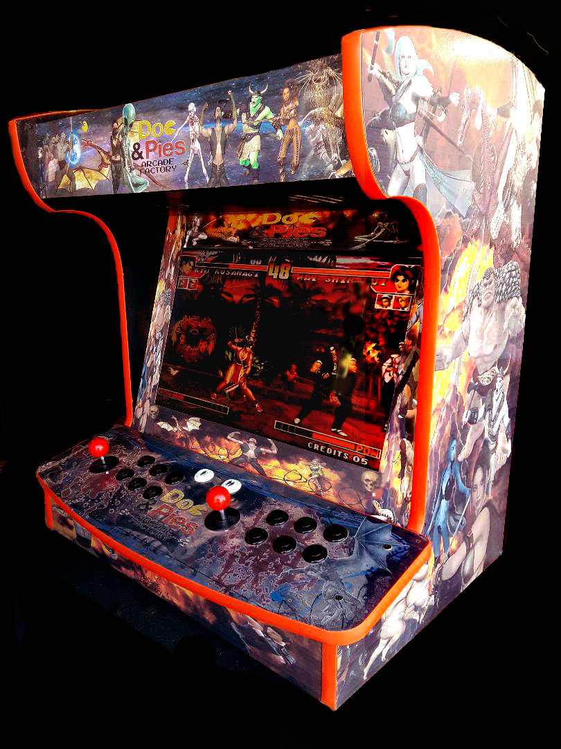 Arcade Machine Side By Side – Free Shipping