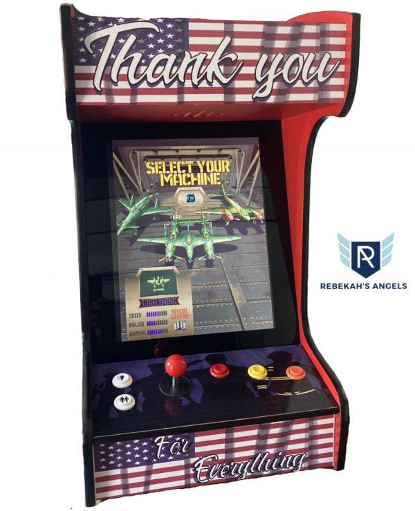 We Salute You Memorial Day Arcade Machine
